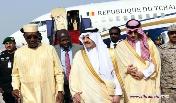 الرئيس التشادي أحضر فرقة عسكرية للعمل في السعودية