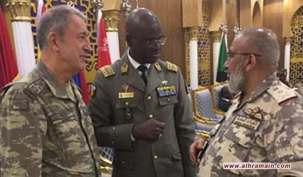 رئيس الأركان السعودي يبحث مع نظيره التركي التعاون العسكري