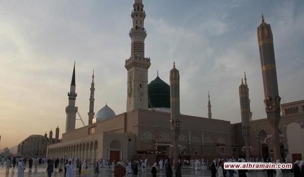مجهول يطلق النار بالمسجد النبوي.. وإعلام سعودي: مريض نفسي