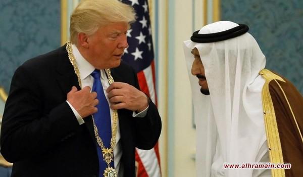 ترامب: الله وحده يعلم ماذا سيحدث للسعودية دوننا