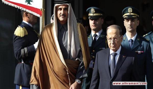 و.س.جورنال: قطر تستعرض عضلاتها أمام السعودية بالاستثمار في لبنان