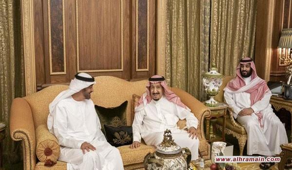بن زايد بالسعودية.. التقى الملك وتناول العشاء مع بن سلمان