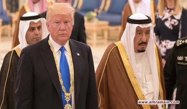 لماذا يتمادى ترامب في توبيخ الملك سلمان؟