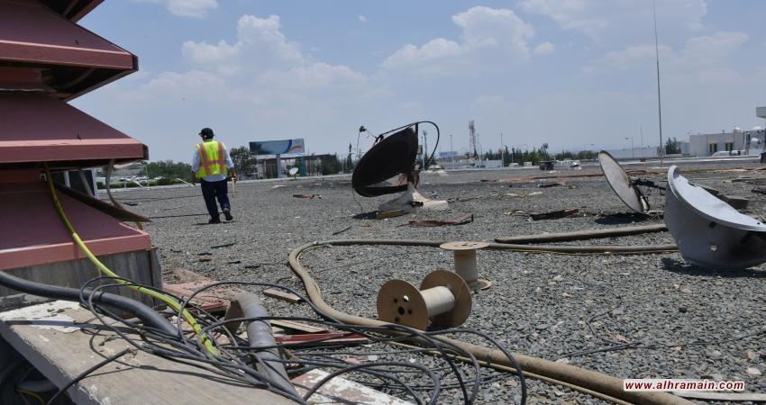 قصف حوثي لمطار أبها السعودي وإصابة 9 أشخاص