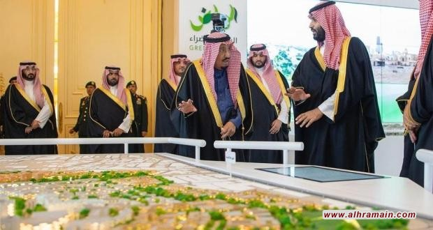 """ابن سلمان يظهر في """"مشاريع الرياض الكبرى"""""""