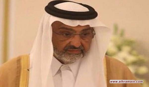 الشيخ عبد الله آل ثاني يبدأ مُهمّة التنسيق بين القطريين والسعودية