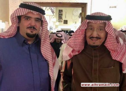 بعد شائعات مقتله… الأمير عبد العزيز بن فهد بن عبد العزيز يظهر مع الملك سلمان.. ومدونون يكشفون تعافيه من مرض خضع بسببه للعلاج طوال فترة غيابه التي استمرت أكثر من عام