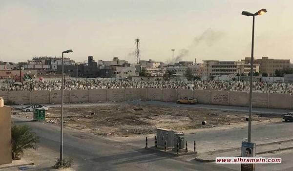 النظام السعودي يقصف مدينة العوامية بالاسلحة الثقيلة..