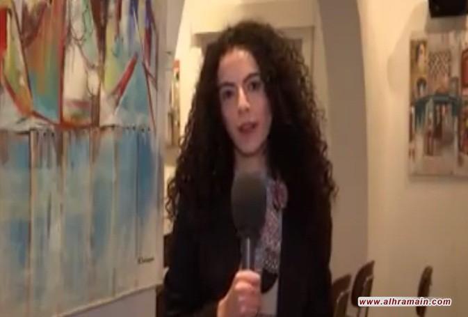 إيقاف مذيعة فلسطينية في السعودية وحملة مسعورة عليها لأنها تضامنت مع اليمن