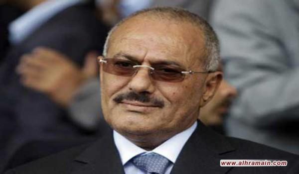"""علي عبد الله صالح يدعو إلى """"مصالحة وطنية شاملة"""" في اليمن """"لا تستثني أحدا"""""""