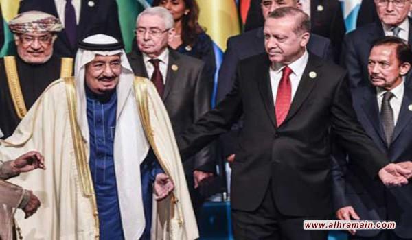 الشرق الأوسط: مصادر تركية: أردوغان لم يطرح في السعودية مبادرة لحل الأزمة مع الدوحة