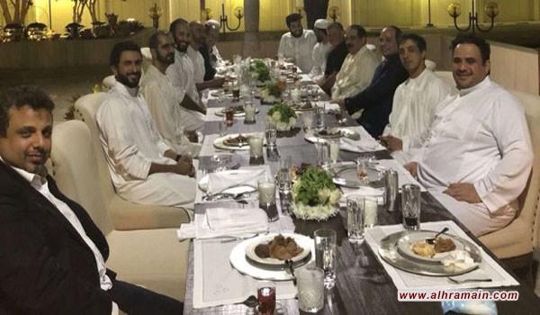 بن سلمان يولم على شرف بعض القادة العرب !