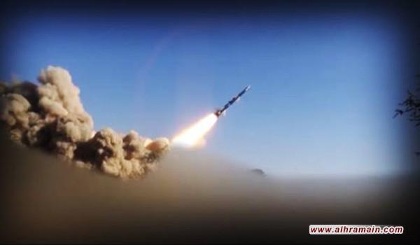 الحوثيون يعلنون اطلاق صاروخ على خزانات توزيع لشركة أرامكو النفطية السعودية في منطقة جازان