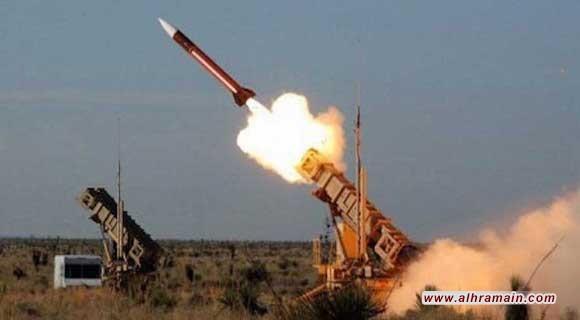 السعودية تعترض صاروخا بالستيا اطلقه الحوثيين من مدينة صعدة في اليمن باتجاه نجران