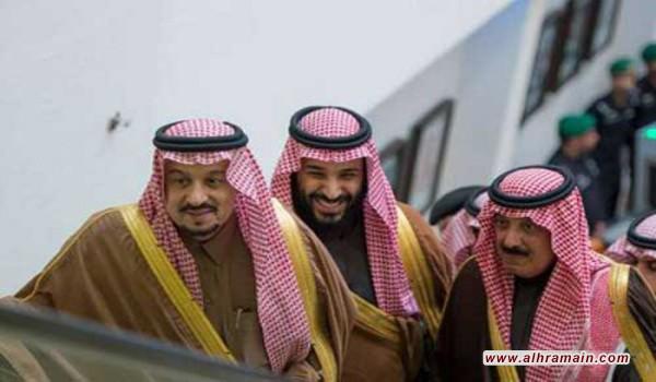 ظهور لافت للأمير متعب بن عبد العزيز برفقة ولي العهد محمد بن سلمان