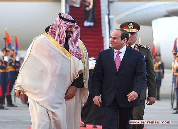 ولي العهد السعودي يصل الى مصر في زيارة تهدف لتعزيز التعاون الثنائي والرئيس السيسي يستقبله في المطار