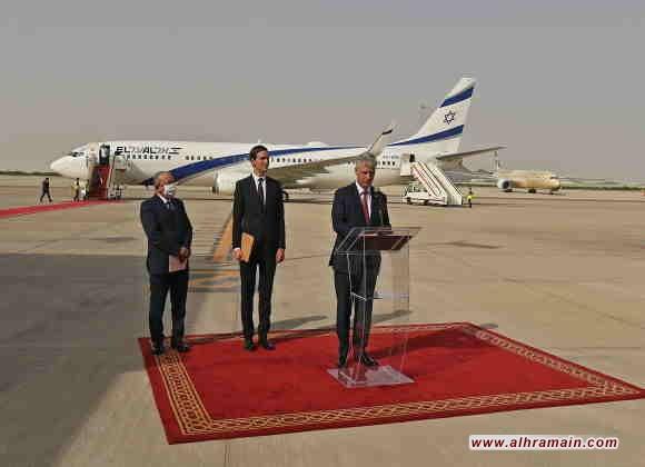 وصول أوّل رحلة طيران إسرائيليّة مُباشرة من إسرائيل للإمارات عبر المجال الجوّي السعودي..