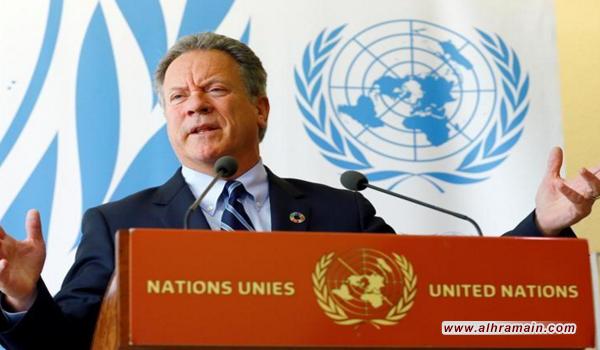 مسؤول كبير في الأمم المتحدة يهاجم السعودية: عليها تمويل كل المساعدات الإنسانية في اليمن.. ووقف الحرب فورا
