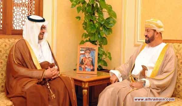 وزير الدفاع العماني يتسلم رسالة خطية من نظيره السعودي