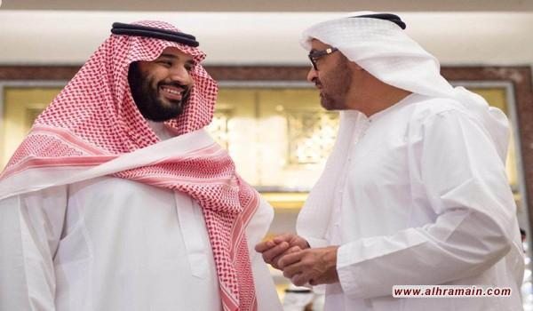 """وول ستريت جورنال"""": هكذا يعيد """"ابن زايد"""" تشكيل السعودية عبر """"ابن سلمان"""""""