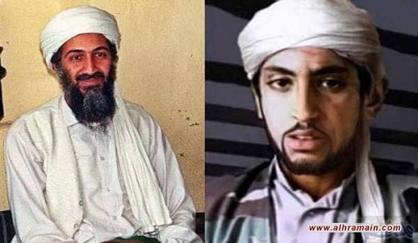 حمزة بن لادن يدعو للإطاحة بالنظام الملكي السعودي لخيانة المسلمين وتشكيل تحالفات استراتيجية مع الغرب على حساب الفلسطينيين ودولتهم