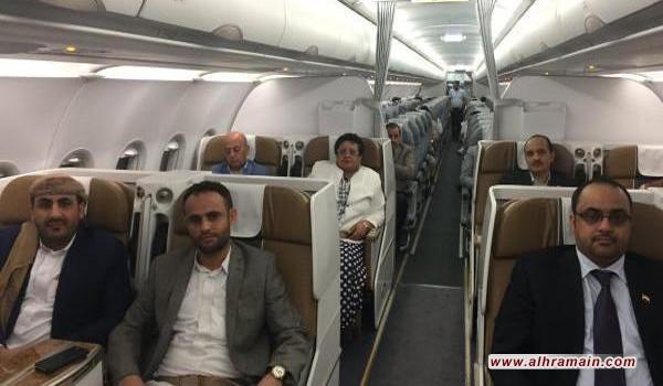السعودية منعت طائرة وفد صنعاء من مغادرة مسقط والعودة إلى اليمن