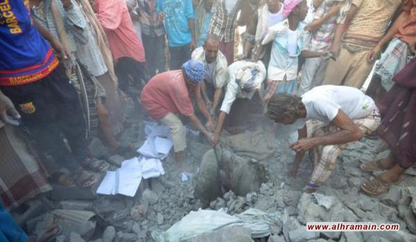 مصدر أمني: غارات العدوان السعودي تستهدف عزل الحديدة