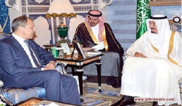 سلمان يبحث مع لافروف بقصر السلام في جدة مستجدات الأحداث الإقليمية والدولية والعلاقات الثنائية وسبل تعزيز التعاون بين البلدين