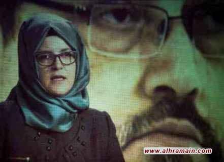 خطيبة خاشقجي تقدم شكوى ضد ولي العهد السعودي ومشتبه بهم آخرين في قضية مقتله في الولايات المتحدة