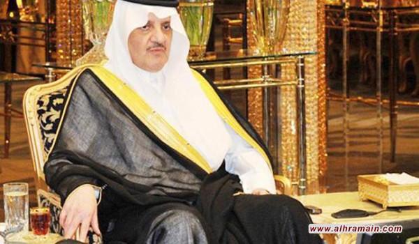 سعود بن نايف شريك في صفقة سلاح أميركي يستخدم في الداخل