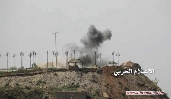 """نجران: مقتل وجرح عسكريين سعوديين بقصف من الجيش اليمني و""""اللجان"""""""