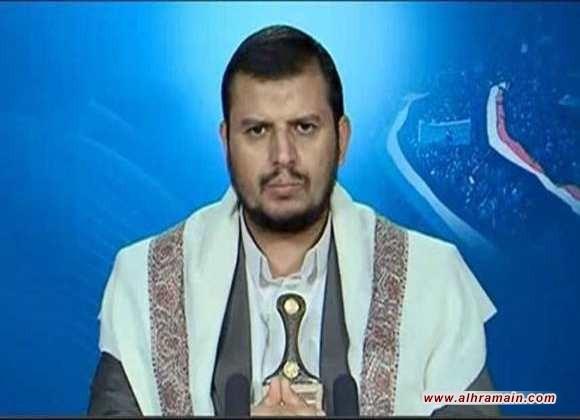 """الحوثي ينفي استهداف مكة بصاروخ باليستي ويؤكد ان كل ما تم تداوله """"افتراء وبهتان وكذب"""""""