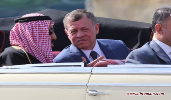 لقطات يوم أردني حافل: الملك سلمان لم يلوّح للمستقبلين وجِمال تذبح على طريقه..