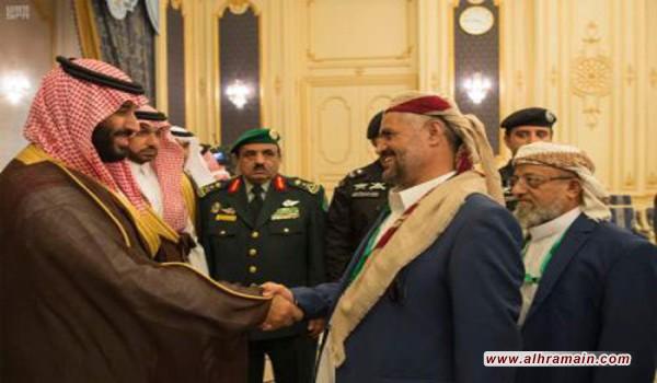 محمد بن سلمان يلتقي بأعضاء مجلس النواب اليمني في قصر السلام بجدة لبحث المستجدات على الساحة اليمنية
