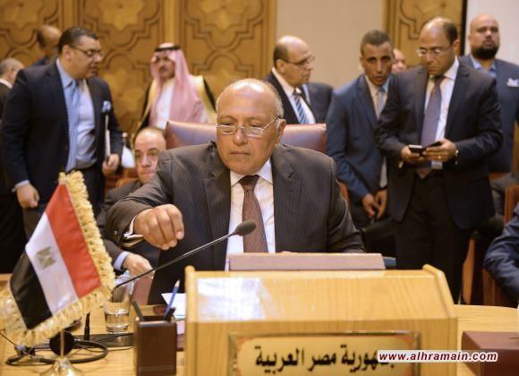 """مشاورات مصرية سعودية حول """"إدلب"""" على هامش الاجتماع الوزاري لمجلس جامعة الدول العربية واتفاق على أهمية التعجيل بالحل السياسي"""