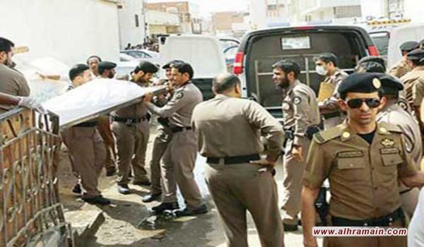 """قوات الأمن السعودية تقتل """"إرهابيين"""" بعد ساعات من محاصرة أحد المباني السكنية شرق حي العسيلة بمدينة مكة"""