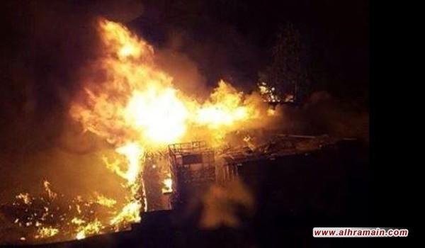 اليوم السابع من الاجتياح: حرائق تلتهم المنازل وتهزّ البلدات المجاورة