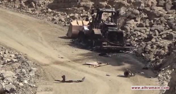 تدمير جرافة في عسير ودك تجمعات الجيش السعودي بجيزان