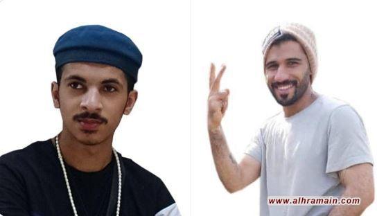 """أحمد آل سويد وعبدالله النمر شهيدا اقتحام قوات النظام """"حي العنود"""" في الدمام"""