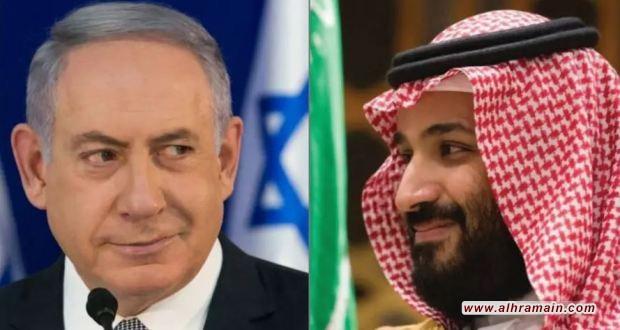 """السعودية تطلب الحماية من """"إسرائيل"""""""
