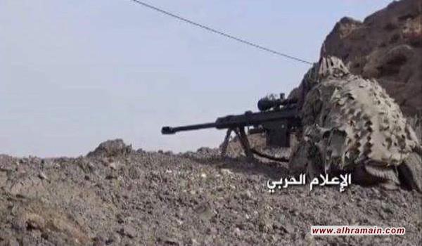"""وحدة القناصة اليمنية يقنصون أكثر من 150 جندياً سعودياً """"تفاصيل"""""""
