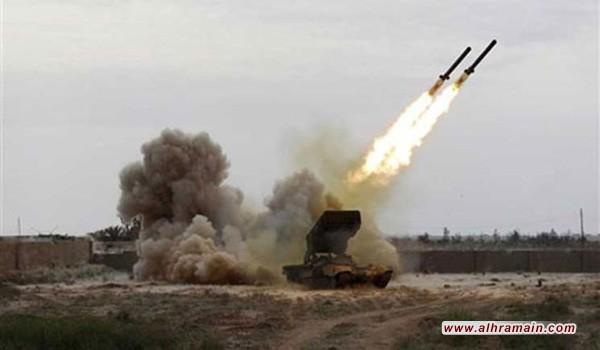 الحوثيون يعلنون قصف مواقع عسكرية في منطقة الرمضه جنوب السعودية بالمدافع والصواريخ