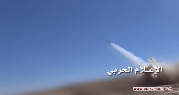 """صاروخ """"زلزال2"""" يمني يضرب تجمعات الجيش السعودي في عسير"""