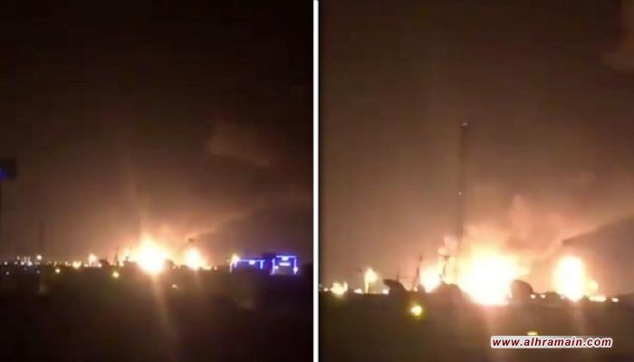 السعودية: حريق أرامكو نتيجة استهداف بطائرات مسيرة