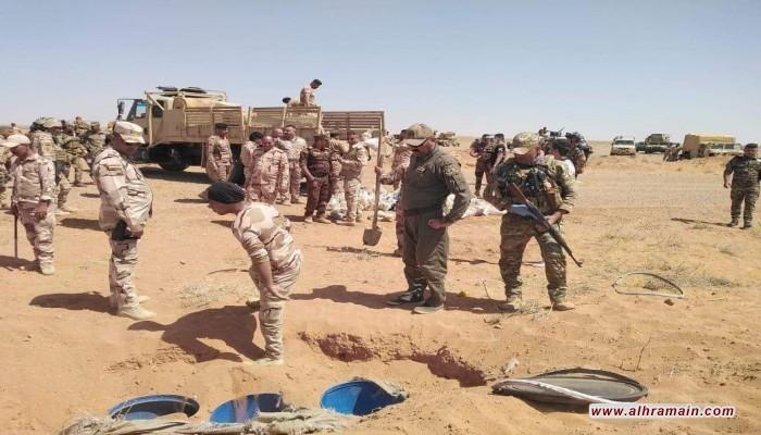 الجيش العراقي يعلن تدمير نقاط داعش على الحدود السعودية