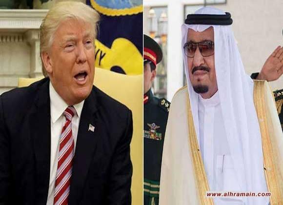 في الماضي تهجمت السعودية على أوباما والان تلتزم الصمت المطلق أمام إهانات ترامب خوفا من فرض  عقوبات عليها ووقف الدعم العسكري الأمريكي في اليمن