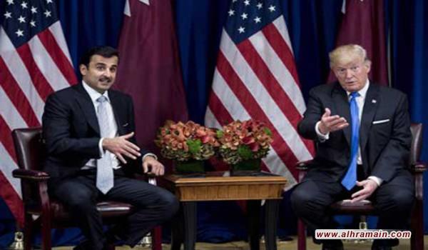 ترامب: لم أحذر السعودية بشأن القيام بعمل عسكري ضد قطر والنزاع بين الدوحة وبعض الدول العربية سيجد طريقه إلى الحل قريبا..