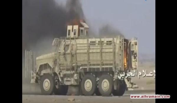 الحوثيون يعلنون قصف معسكر للجيش السعودي بعسير