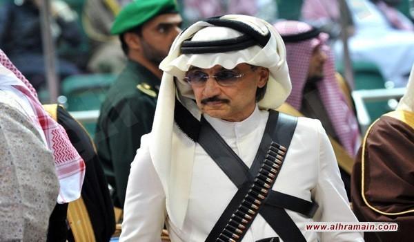 """""""الديلي ميل"""": الوليد بن طلال عُلّق من قدميه وجرى اعتقاله بـ""""البيجامة"""""""