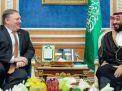 """بومبيو يصل إلى الرياض المحطة الحساسة في جولته في الشرق الأوسط وسيطلب من بن سلمان """"محاسبة"""" جميع المسؤولين عن مقتل الصحافي جمال خاشقجي"""